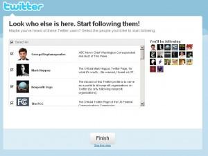 Registrace na Twitter - 3 krok