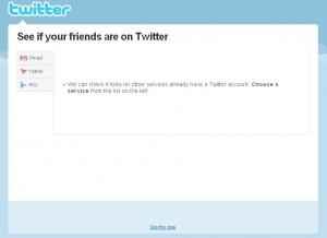 Druhý krok registrace na Twitter